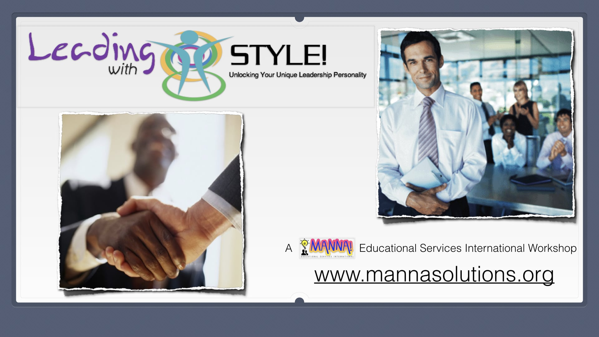 Manna! Solutions - Leading with Style - Slide 003