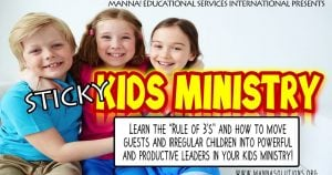 Sticky Childrens Ministry Workshop