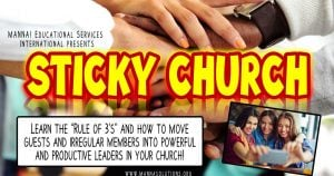 Sticky Church Workshop