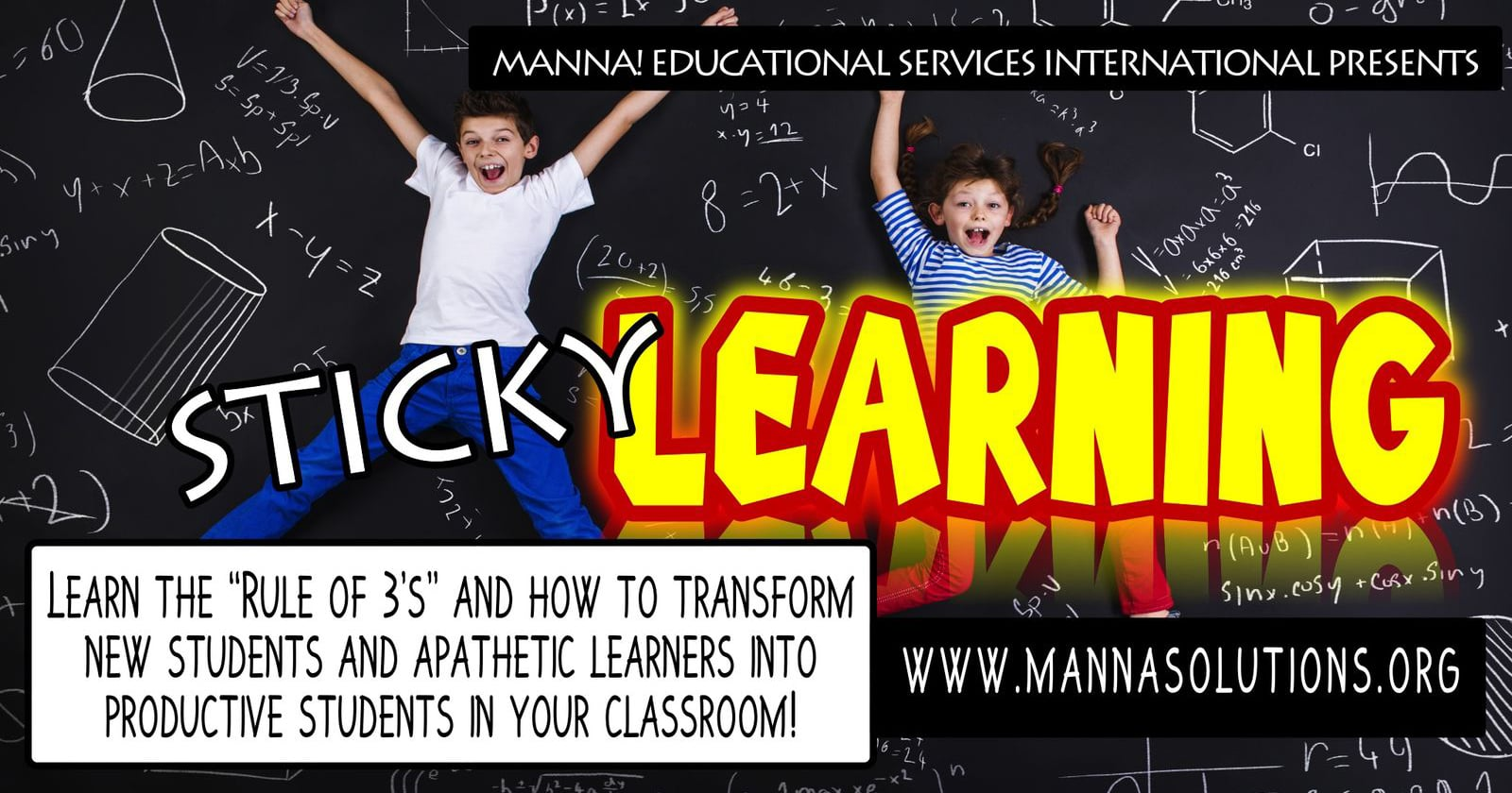 Sticky Learning Workshop Ad