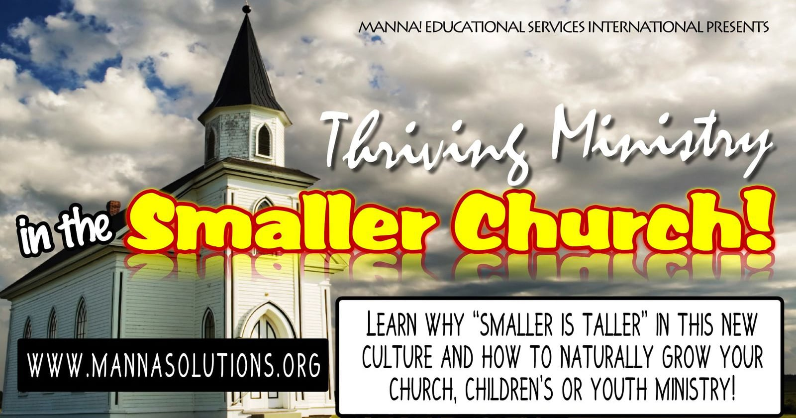 Thriving Ministry in Smaller Churches