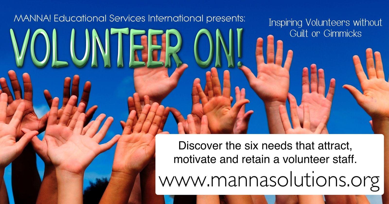 Volunteer On Workshop