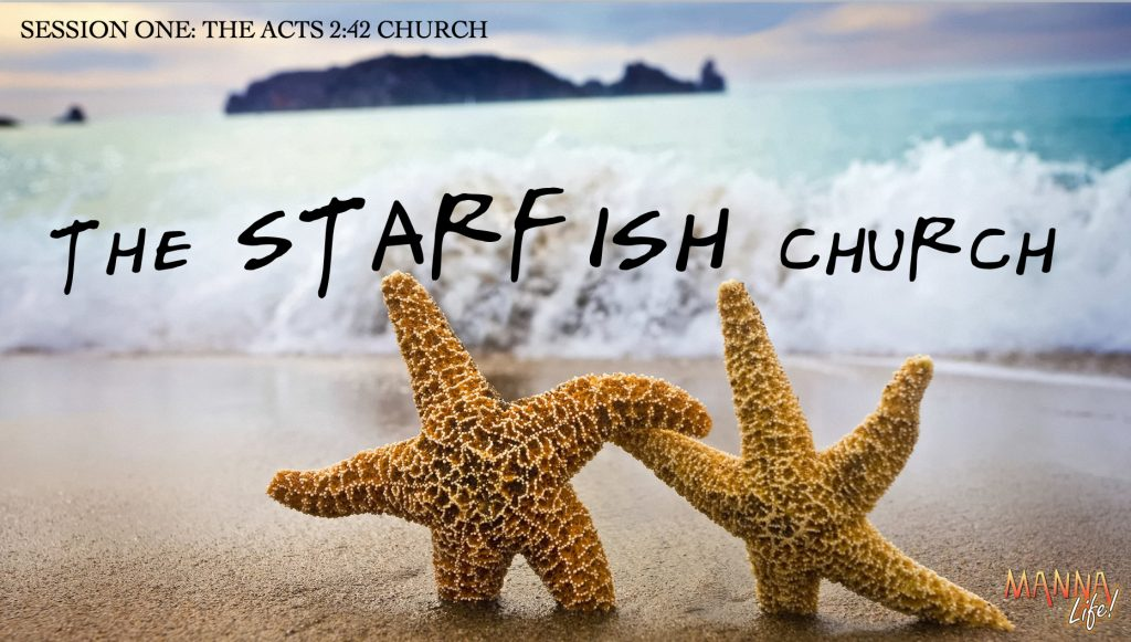 Starfish Church.Session 1.Title