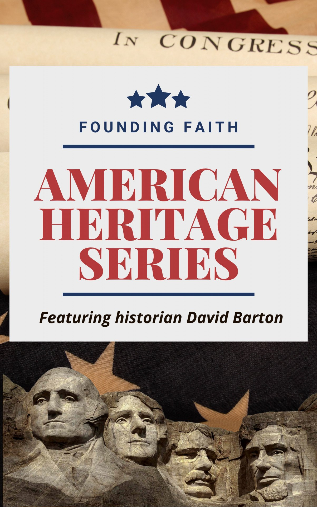 American Heritage Founding Faith LONG VERTICAL AD