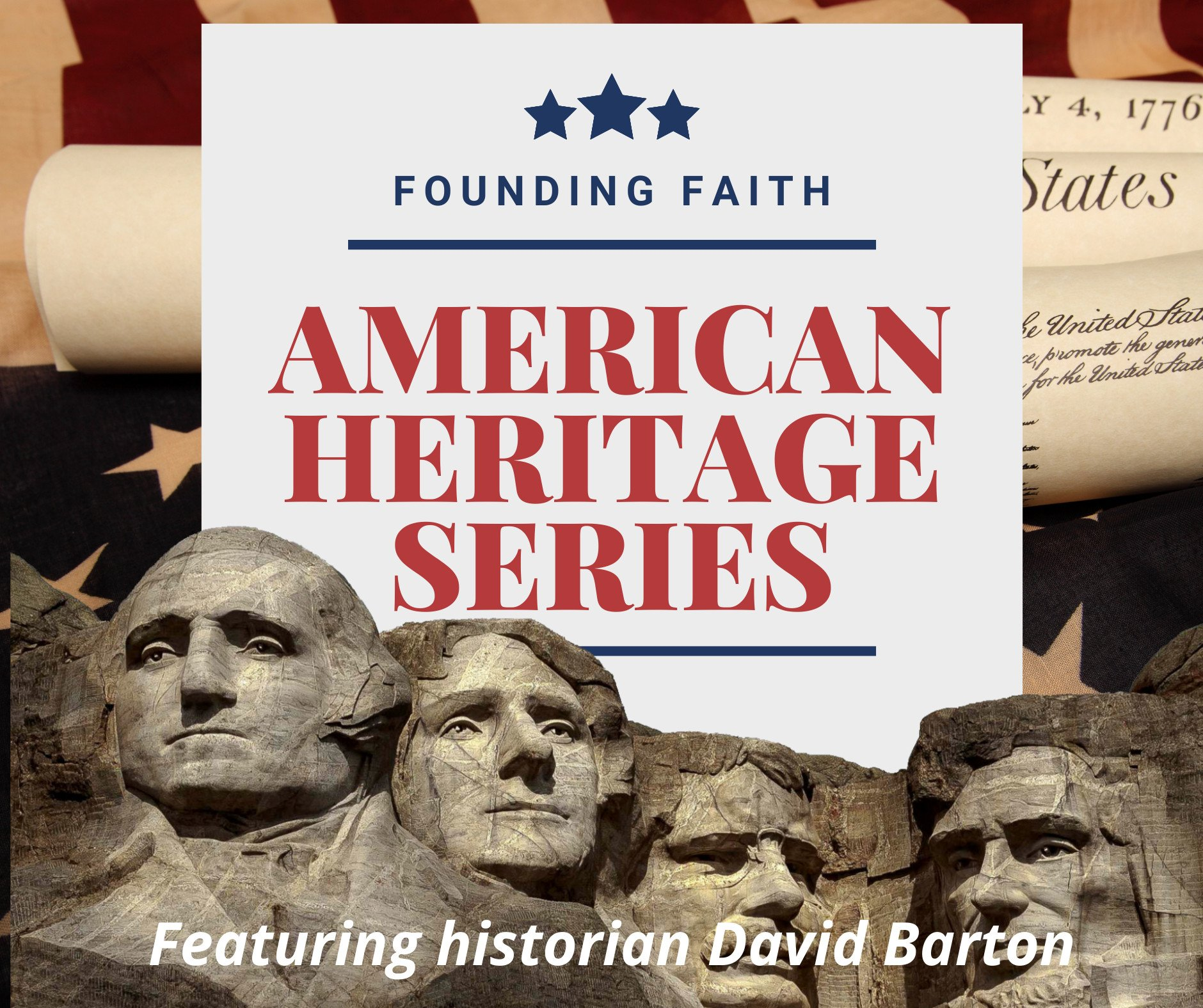 American Heritage Series.Founding Faith