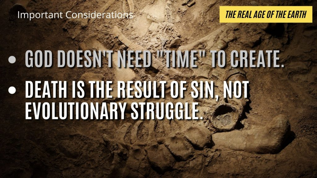 Biblically, death is due to the introduction of sin into God's original creation.