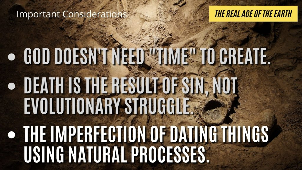 Many of the cherished dating methods are ripe with inconsistencies, errors and false conclusions.