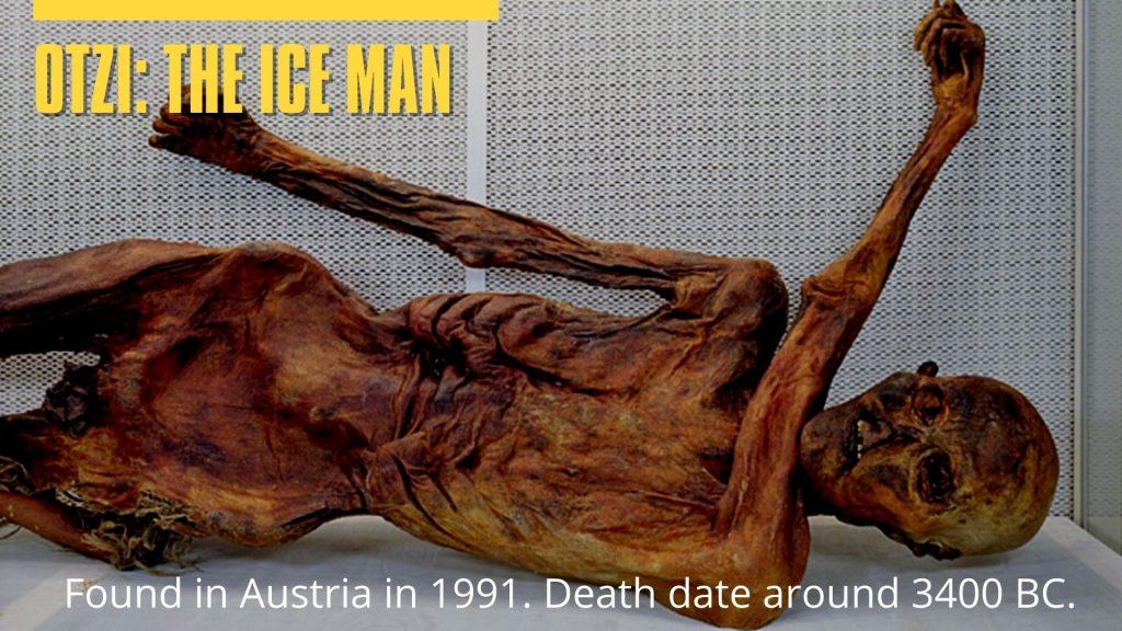 Otzi the Ice Man